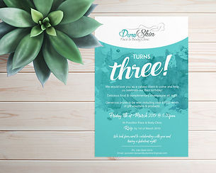 Invitation Design Darwin