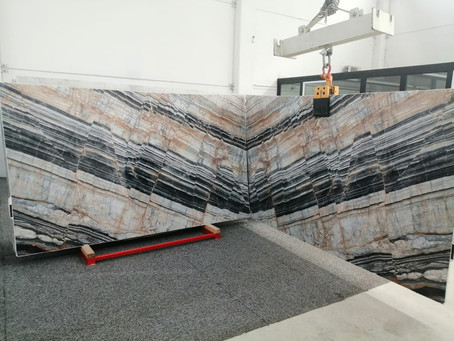Pax Marble Bookmatch Slabs