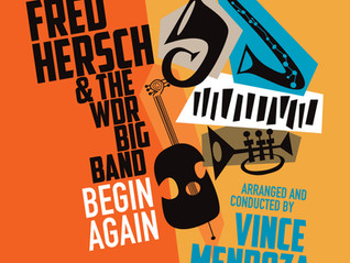 New Fred Hersch Album with WDR Big Band & Vince Mendozza