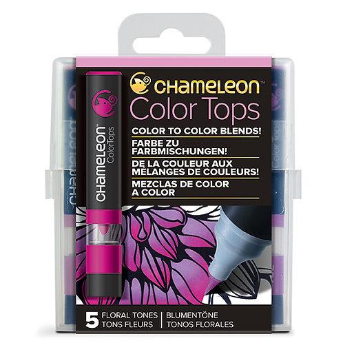 Renk Kapakları Çiçek Renkler - Floral Tones