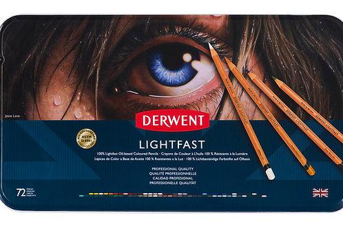 Derwent Lightfast 72'li Yağlı Kurukalem Seti