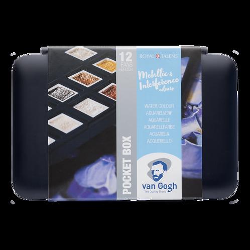 Van Gogh Tablet 12'li Suluboya Seti Metalik