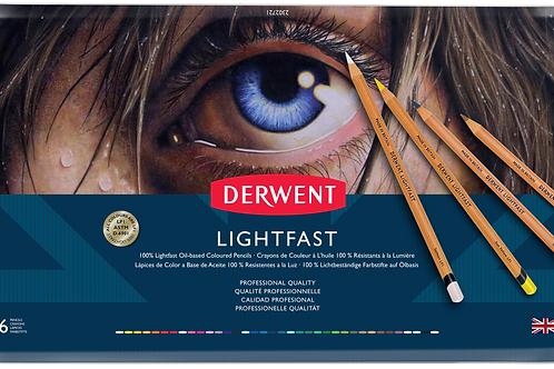 Derwent Lightfast 36'lı Yağlı Kurukalem Seti