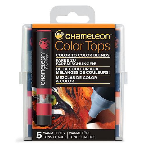 Renk Kapakları Sıcak Renkler - Warm Tones