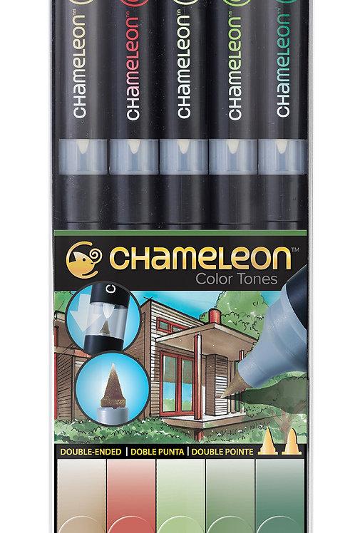 Chameleon Tonlama Kalemi 5'li Doğa Renkler Seti