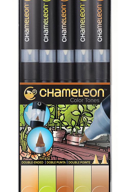Chameleon Tonlama Kalemi 5'li Toprak Renkler Seti