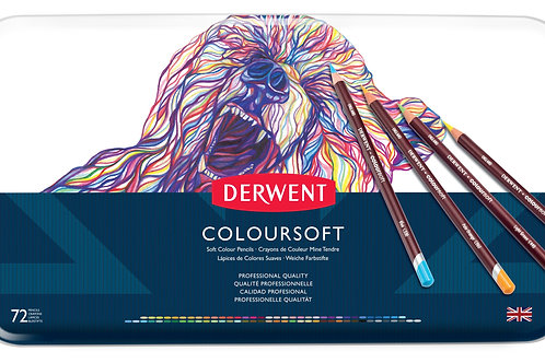 Derwent Coloursoft 72'lİ Set Metal Kutu