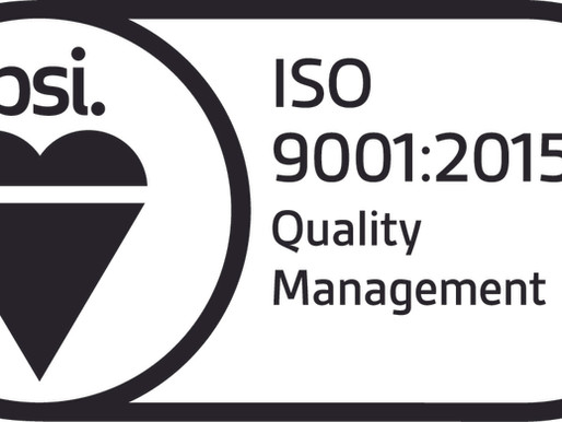 ISO 9001/2015 - WHAT DOES IT MEAN FOR US AND OUR CLIENTS?