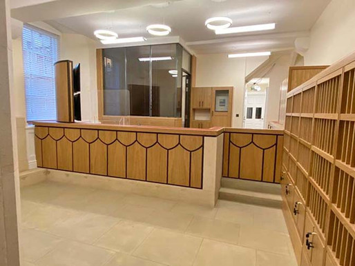 St. John's College Porters' Lodge in Oxford Completes