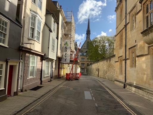 Restoration to 17th Century Ship Street Building, Oxford