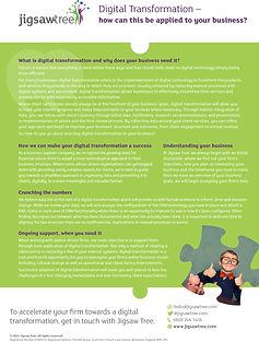 Jigsaw Tree Digital Transformation Guide
