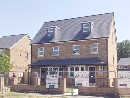 Housing Development on Vale Road, Windsor Now Complete