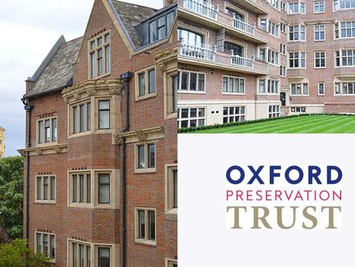 Belsyre Court Renovation Shortlisted for Oxford Preservation Trust Award