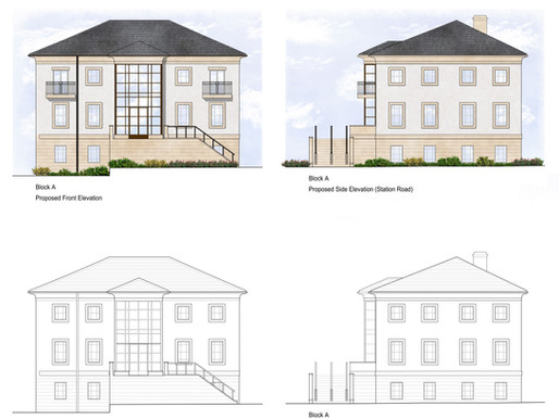 Conversion of commerical space into 18 flats in Marlow