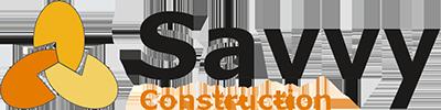 SAVVY Conctruction Logo Transparent back
