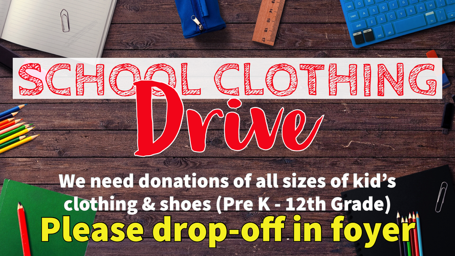 School Clothing Drive.PNG