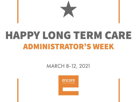 Long Term Care Administrator's Week