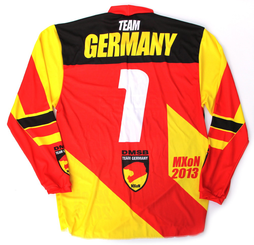 MXoN Germany Fahrershirt Erw hinten