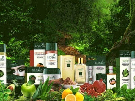 BIOTIQUE: Blend of proven Ayurvedic therapies and 21st century bio-technology.