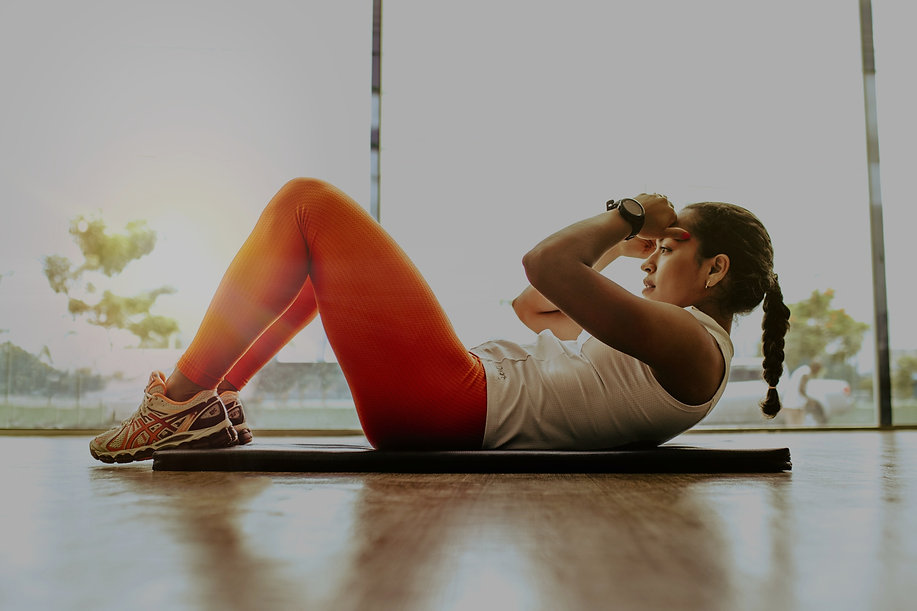 Wellness Blueprint - Woman exercising