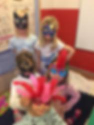 Children in Bumblebees english kindergarten in Helsinki