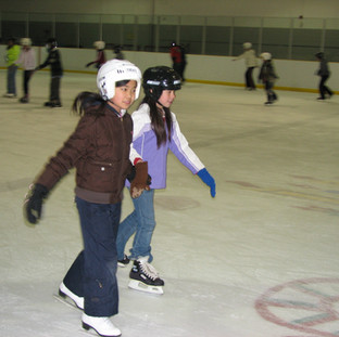 Skating with my best friend