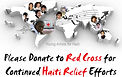 Annie participated a global internet virtual performance to raise donations for the Red Cross to support the relief efforts for the earthquakes in Haiti and Chile.
