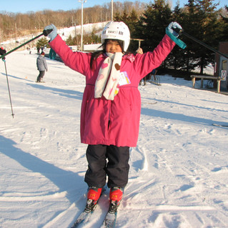 love skiing
