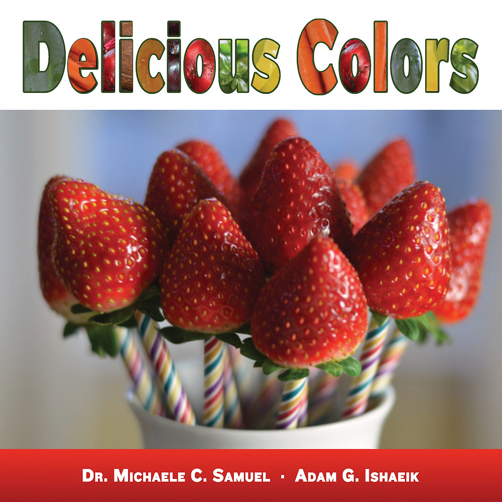 Delicious Colors is available on MichaelesMenu.com and on Amazon