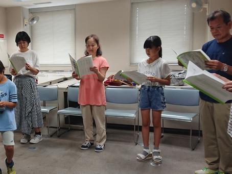 春日部市民塾『こども朗読劇』講座