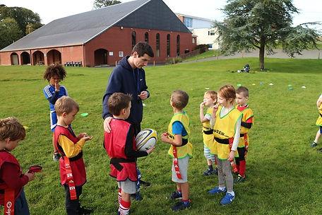Pop Up Sports Coaching Children