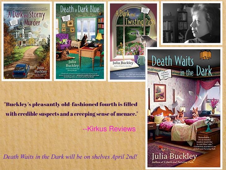 Kirkus Review of DEATH WAITS IN THE DARK