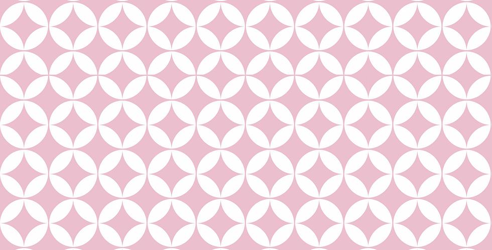 Parede Adesivo Pink Circle