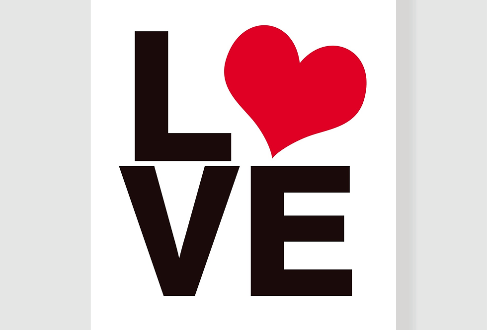 Quadro Love Heart