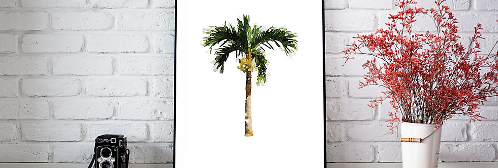 Quadro Palm Tree