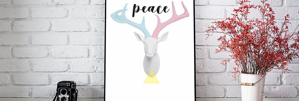 Quadro Alce Peace
