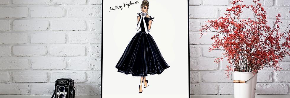 Quadro Audrey Classic