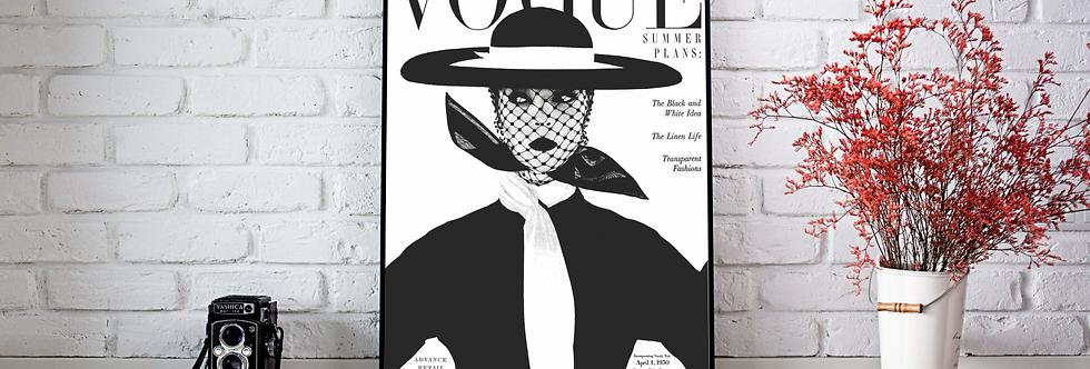 Quadro Vogue#1