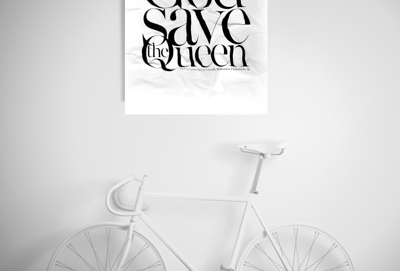 Quadro God Save The Queen