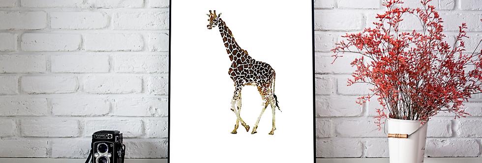 Quadro Girafe