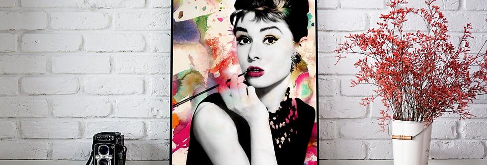 Quadro Audrey Colors