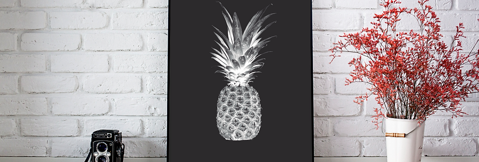 Quadro Black Pineapple