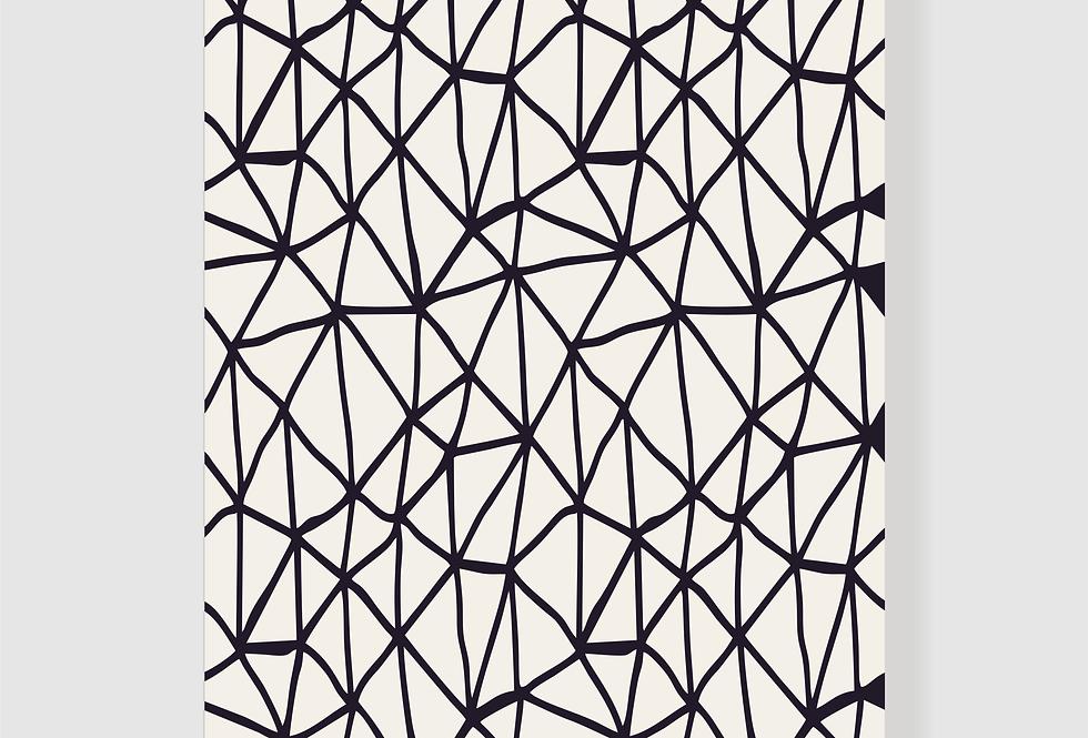 Quadro Grafism BW
