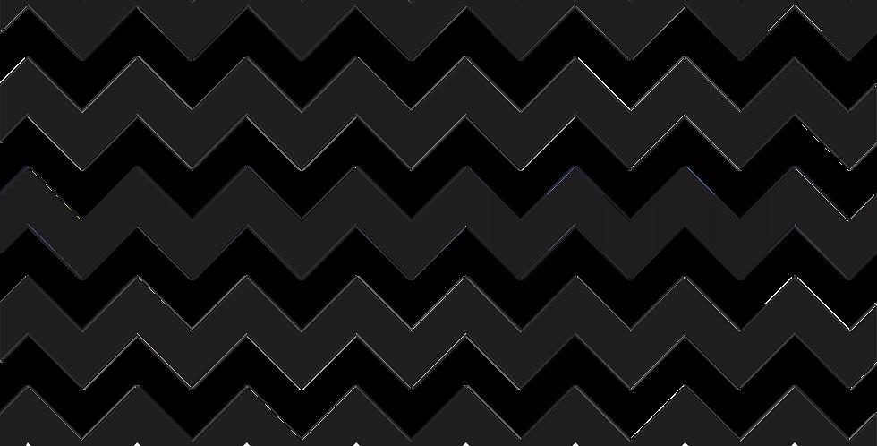 Papel de Parede Adesivo Chevron Black