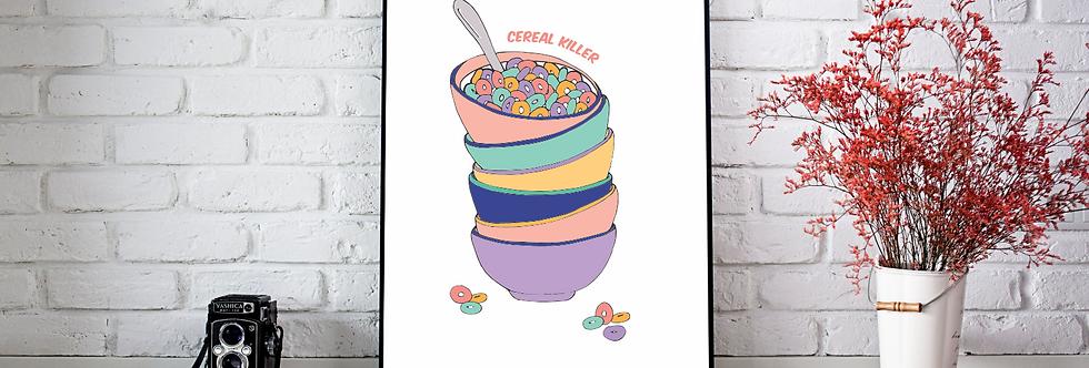 Quadro Cereal Killer