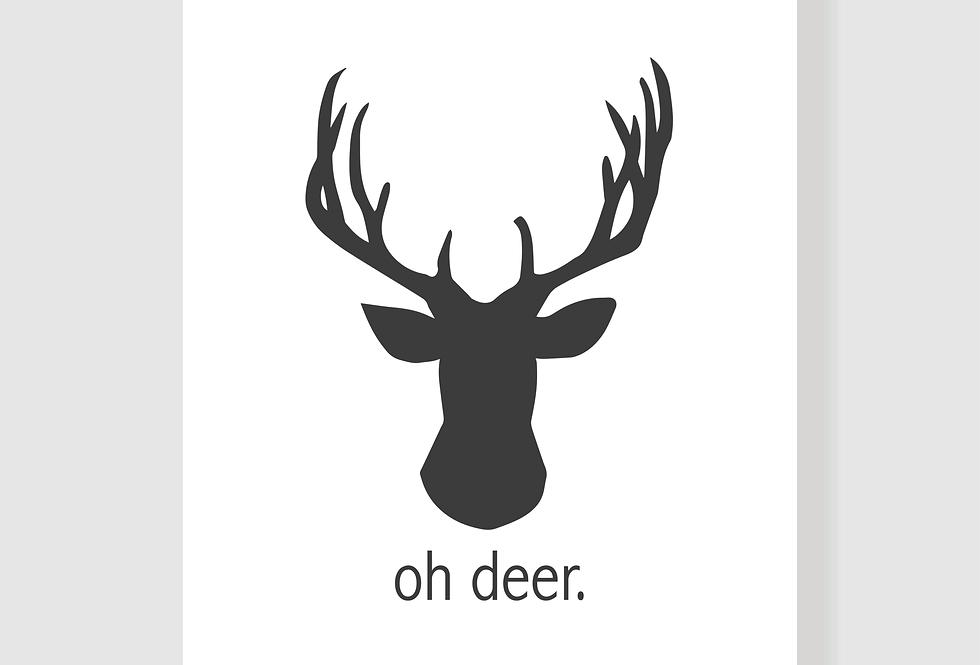 Quadro Oh Deer