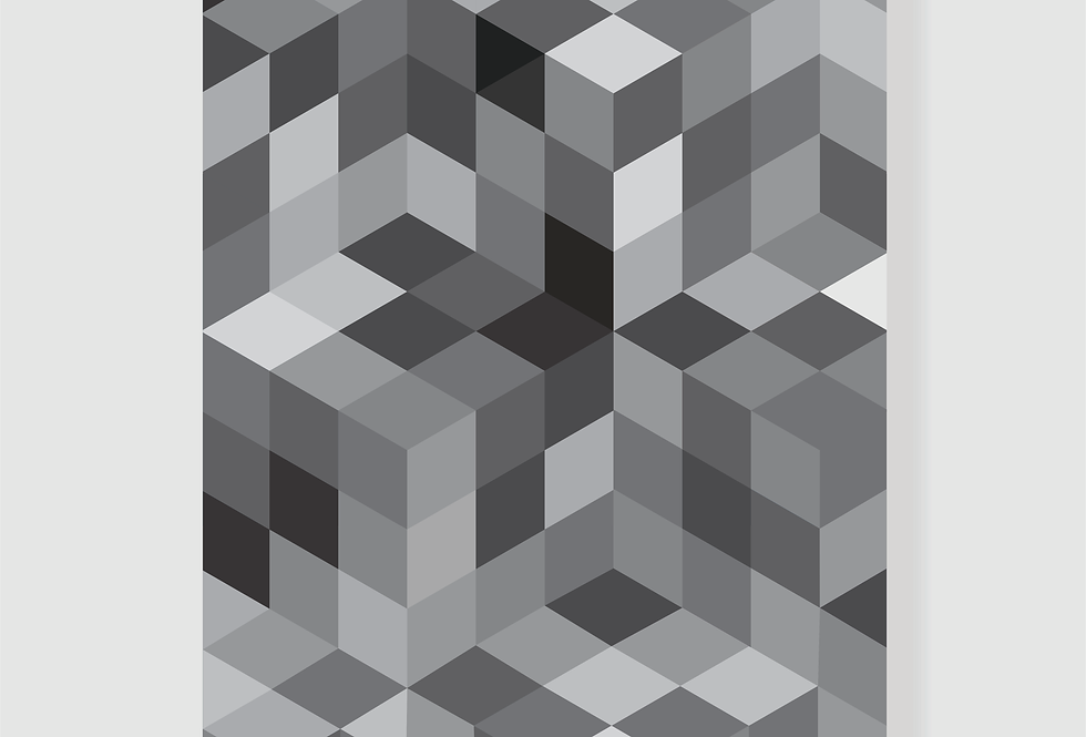 Quadro Grey Geo