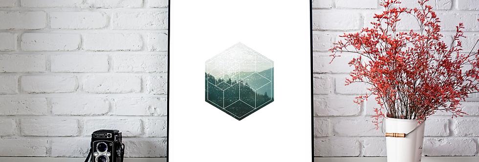 Quadro Hexa Green