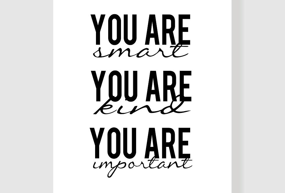 Quadro You Are