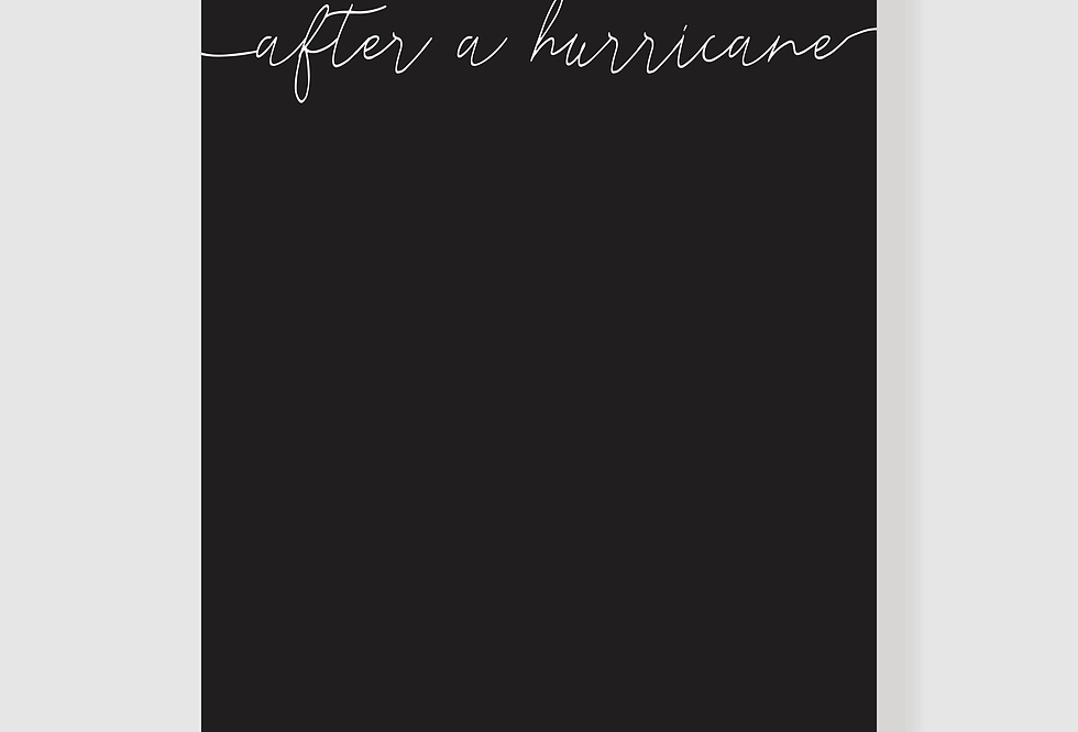 Quadro After a Hurricane